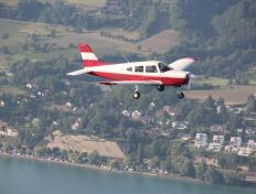 Formation flight above the Konstanz lake....