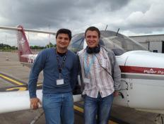 Bartosz and Gabriel - 1st solo on 11 June 2012