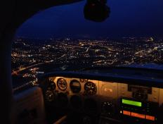 Night Rating - Brussels Aviation School