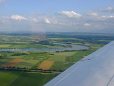 Between Straubing (Germany) and Strasbourg (France)...