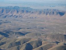 Flying in the Moroccan Atlas