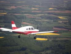 The OO-JET, somewhere above the south region of Belgium