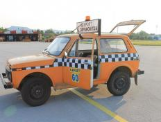 Our marshaller car in Gorna (LBGO), Bulgaria