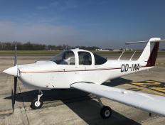 Our Piper Tomahawk PA38, OO-IWA