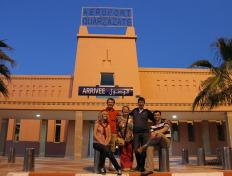 The group in Ouarzazate - Saturday 3 November 2012