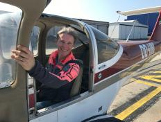 Isabelle, private pilot since 7 December 2019