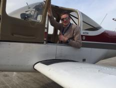 Romain, private pilot since 8 August 2018!