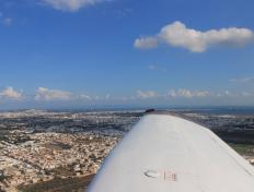Taking off from Tunis