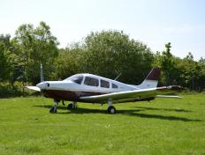 OY-PHK PA28 - Brussels Aviation School - Shoreham, mai 2016