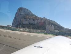 Touch down Gibraltar... on y est !!!