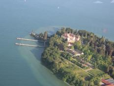 The shores of the Konstanz lake, Germany