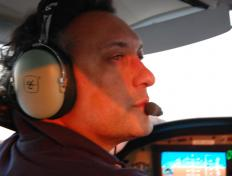 Alexis as Captain of the OO-JET