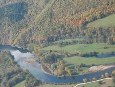 The Black Valley of the Creuse (France)