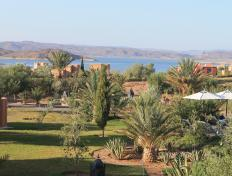 View from our hotel room in Ouarzazate, Morocco (1 November 2013)