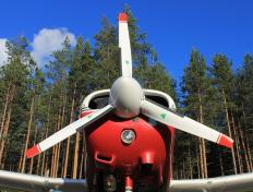Our Piper Warrior PA28 Glass Cockpit, OO-JET, in Lulea (Sweden, 2012)