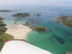 The beautiful beaches of Mull and Iona Islands, Scotland