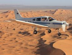 Formation flight with the DEGLA, Sahara -Sunday 4 November 2012