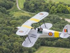Our Stampe SV4-B OO-GWB, in the south of Paris (3 July 2016)