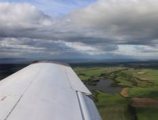 Approaching Inverness, the capital of the Highlands