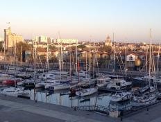 Old port of La Rochelle at dawn - Sunday 28 October 2012
