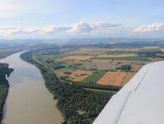 The Blue Danube in Hungary